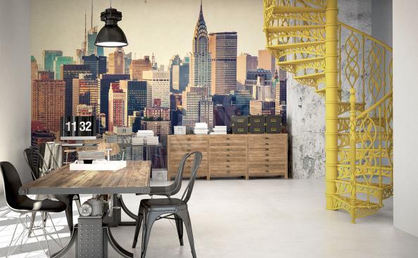Fototapete für Büro Stadt 3D