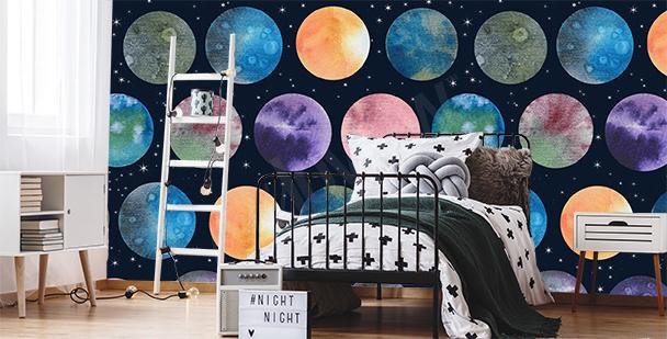 Fototapete für das Schlafzimmer eines Teenagers