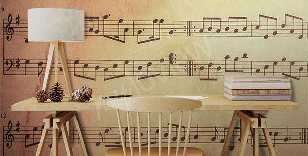 Fototapete für die Musikschule