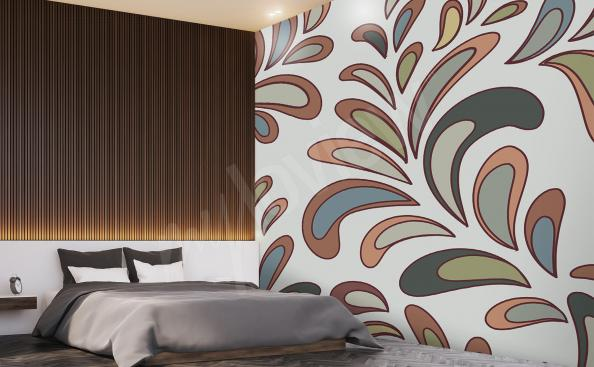 Fototapete fürs Hotel Pflanzenmotiv
