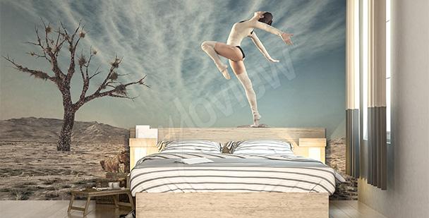 Fototapete fürs Schlafzimmer – Tänzer