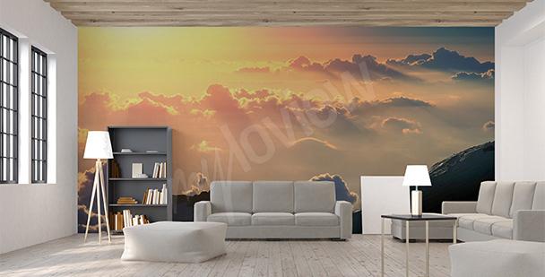 Fototapete fürs Wohnzimmer Morgen