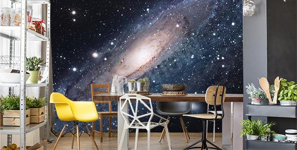 Fototapete Galaxie fürs Esszimmer
