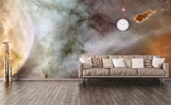 Fototapete Galaxie fürs Wohnzimmer