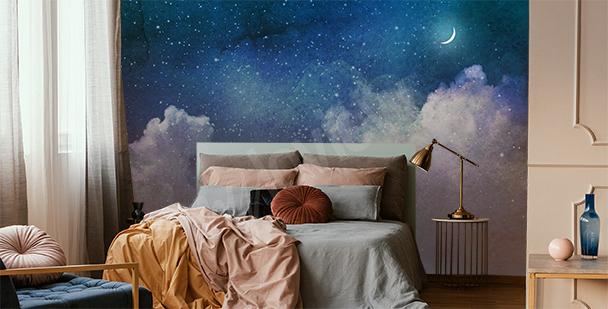 Fototapete Galaxie voller Sterne