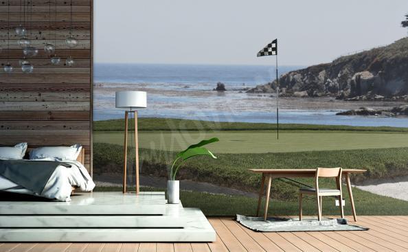 Fototapete Golfplatz 3d