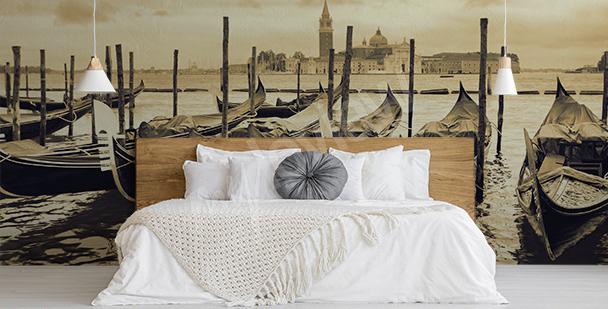 Fototapete Kanal in Venedig