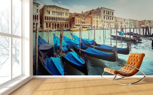 Fototapete Gondeln von Venedig