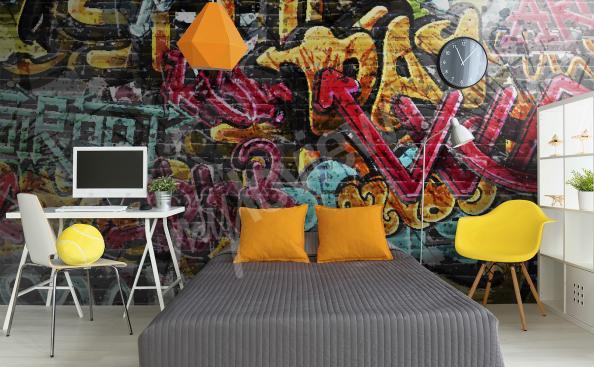 Fototapete Graffiti Style