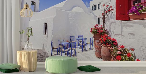 Fototapete griechische Stadt