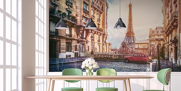 Fototapete Panorama von Paris