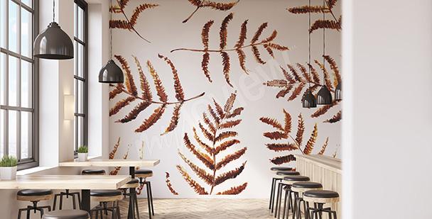 Fototapete Herbstblätter