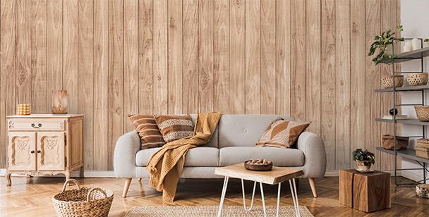 Fototapete Holzoptik für Wohnzimmer