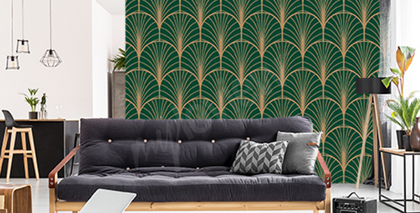 Fototapete im Art-Deco-Stil