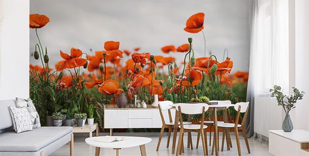 Fototapete im Floral-Style