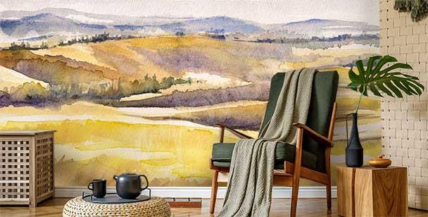 Fototapete italienische Landschaft