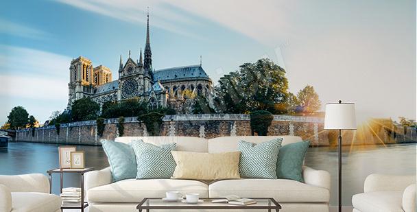 Fototapete Paris fürs Wohnzimmer