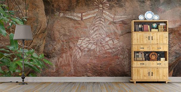 Fototapete Kunst der Aborigines