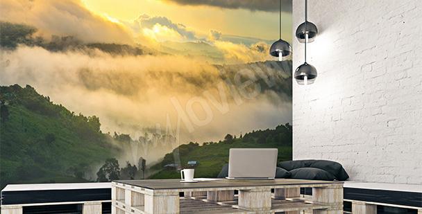 Fototapete Landschaft fürs Wohnzimmer