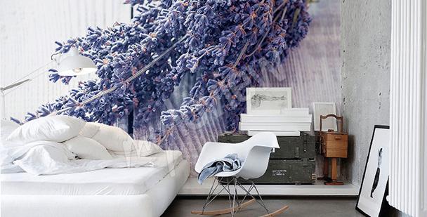 Fototapete Lavendelstrauß