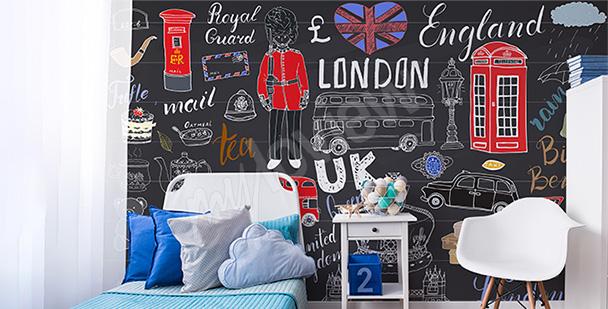 Fototapete London für einen Jugendlichen
