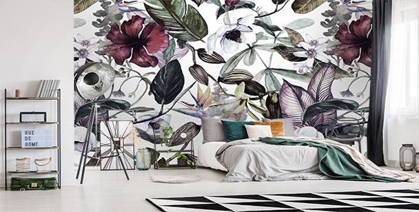 Fototapete Magnolie fürs Schlafzimmer