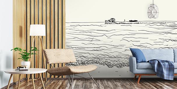 Fototapete Meer fürs Wohnzimmer