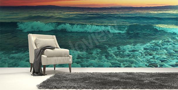 Fototapete Meer und Wellen