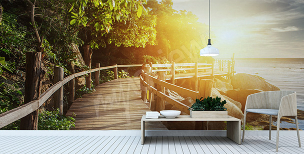 Fototapete Morgen in Thailand