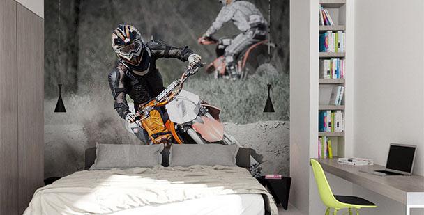 Fototapete Motocross
