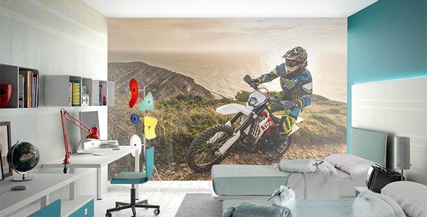 Fototapete Motorrad für Jugendliche