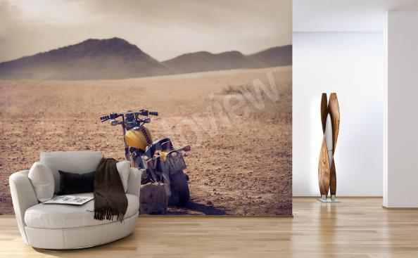 Fototapete Motorrad Retro