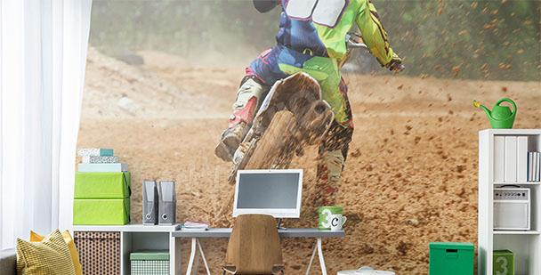 Fototapete Motorrad Sport