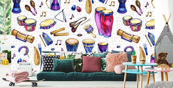 Fototapete Musik fürs Kinderzimmer