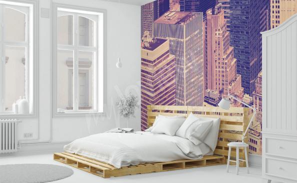 Fototapete New York im Schlafzimmer