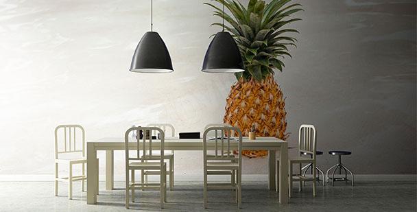 Fototapete Obst: Ananas