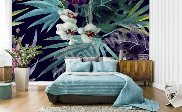 Fototapete Orchidee fur Schlafzimmer