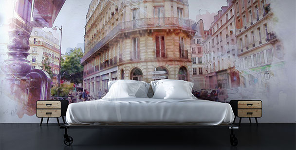 Fototapete Paris historische Straße