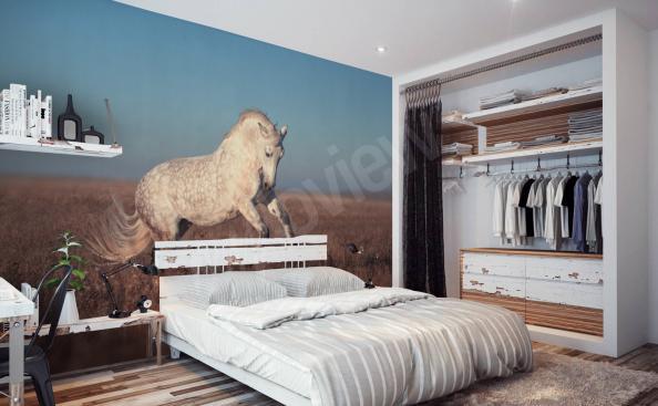 Fototapete Pferde Schlafzimmer