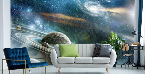 Fototapete Mond fürs Wohnzimmer