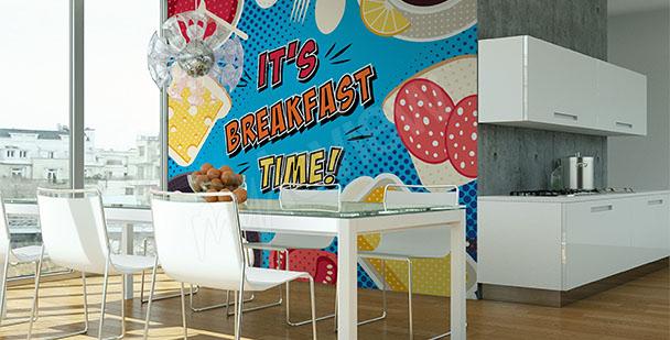 Fototapete Pop Art für die Küche