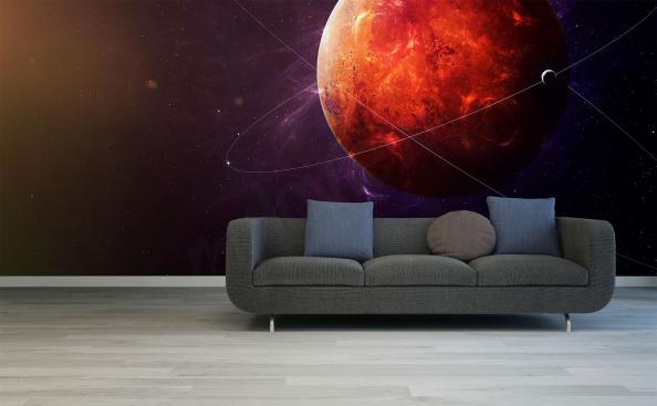 Fototapete roter Planet Mars