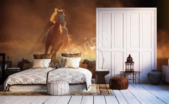 Fototapete Schlafzimmer Pferd