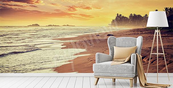Fototapete Sonnenaufgang - Ozean