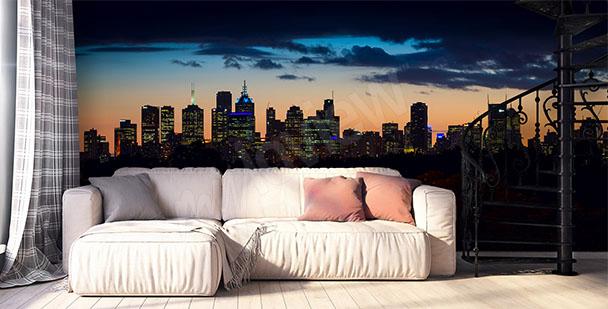 Fototapete Stadt Melbourne