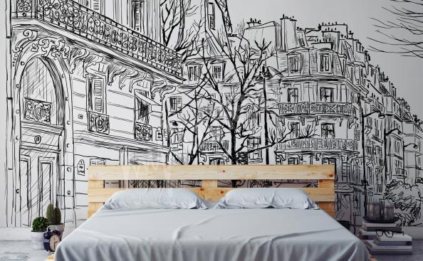 Fototapete Stadt Paris