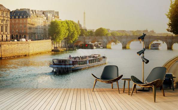 Fototapete Stadtlandschaft - Paris