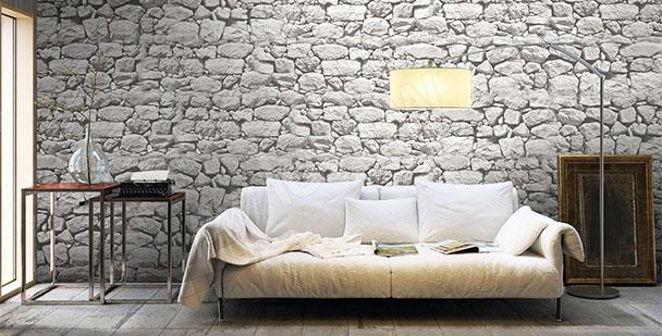Fototapete Steinmauer