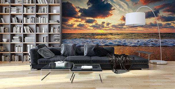 Fototapete Strand fürs Wohnzimmer