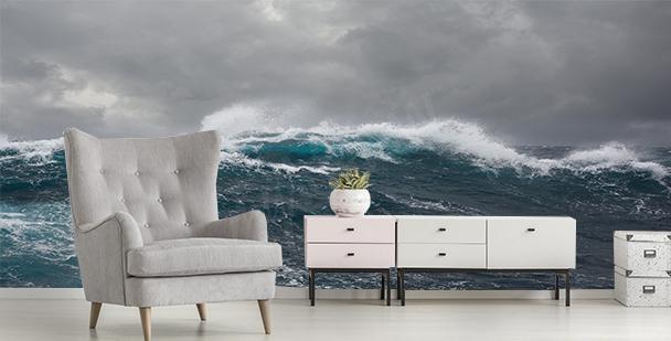 Fototapete Sturm auf dem Meer